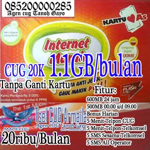 Program CUG Telkomsel 20K