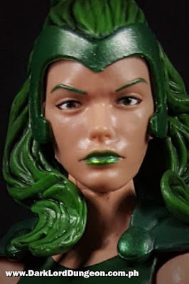 Marvel Legends Lorna Dane - Polaris - Action Figure - face