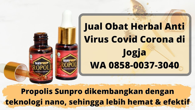 Jual Obat Herbal Anti Virus Covid Corona di Jogja WA 0858-0037-3040
