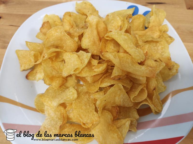 Patatas fritas crujientes Snack Day de Lidl en El Blog de las Marcas Blancas.