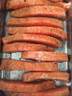 Stephi's Teryiaki Salmon: quick and easy recipe