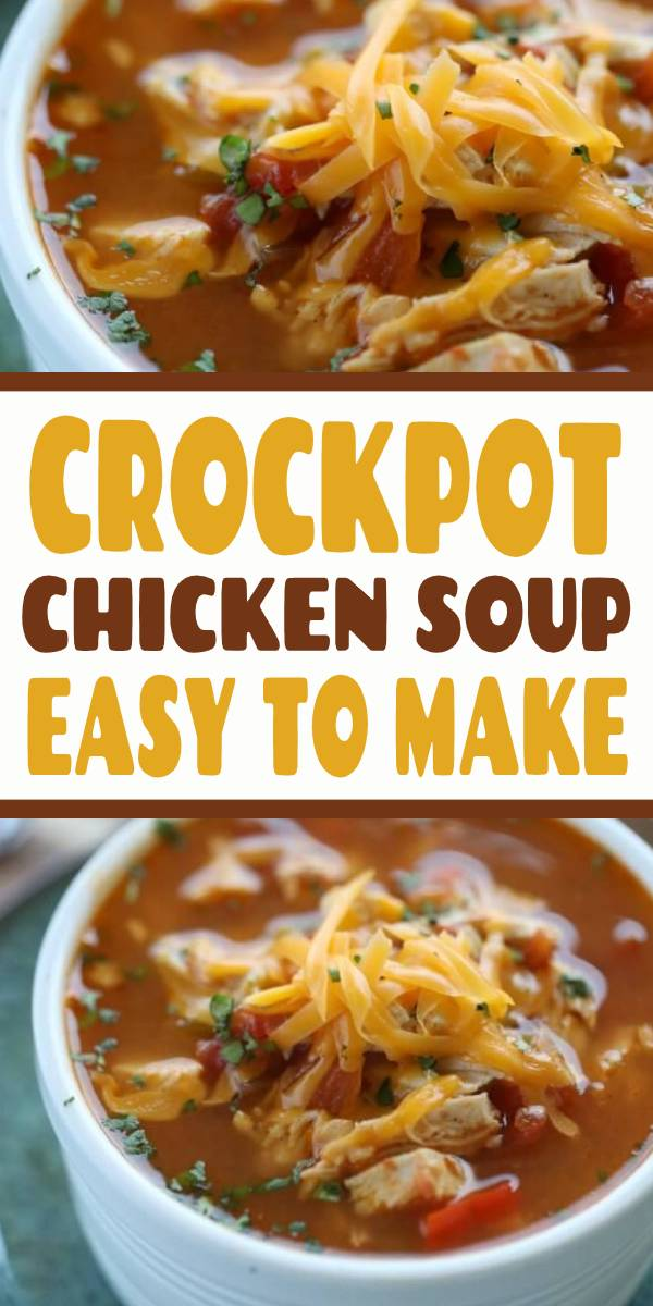 Crock Pot Chicken Fajita Soup is easy to make and tasty. The entire family will enjoy this Low Carb Crock Pot Chicken Fâjita Soup recipe. It's also budget friendly. #chicken #chickensoup #crockpot #slowcooker #lowcarb #soup