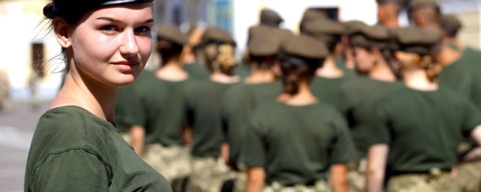Number of servicewomen in Ukraine almost doubles over seven years
