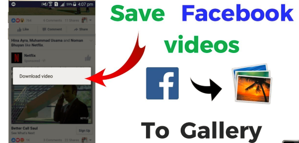 How To Save Facebook Videos To Your Phone