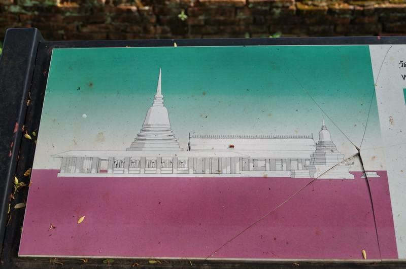Wat Chang Lom, templos de Sukhothai