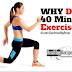 Why You Don't Need To Get 40 Mins Of Fitness Exercise