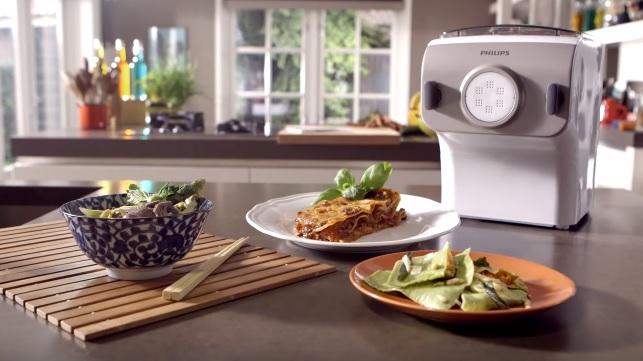 Food: con Philips Pasta Maker fare la pasta in casa non è mai stato così divertente