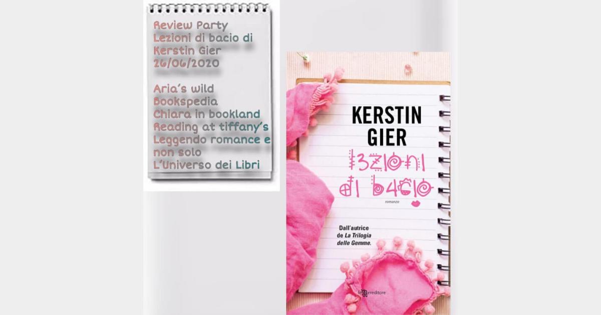 Lezioni di bacio di Kerstin Gier_Recensione