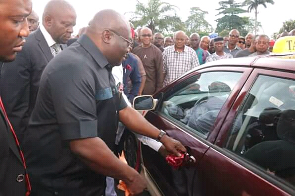 Abia Government Launches Easy Taxi Scheme