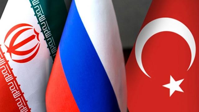 Τι συζητούν σήμερα Πούτιν, Ερντογάν, Ροχανί