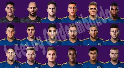 PES 2020 Mega Facepack Boca Juniors by Gordoumbanda