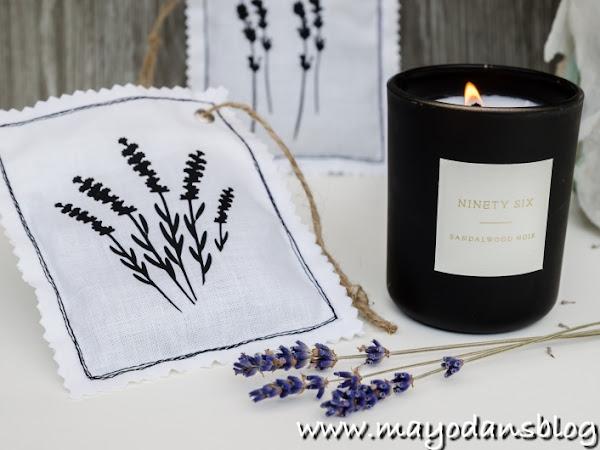 DIY Lavendelduftsäckchen mit Plottermotiven + Freebie