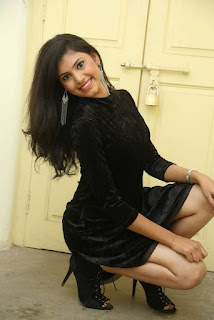 Mounika Spicy Images From Tick Tock Movie Website Event