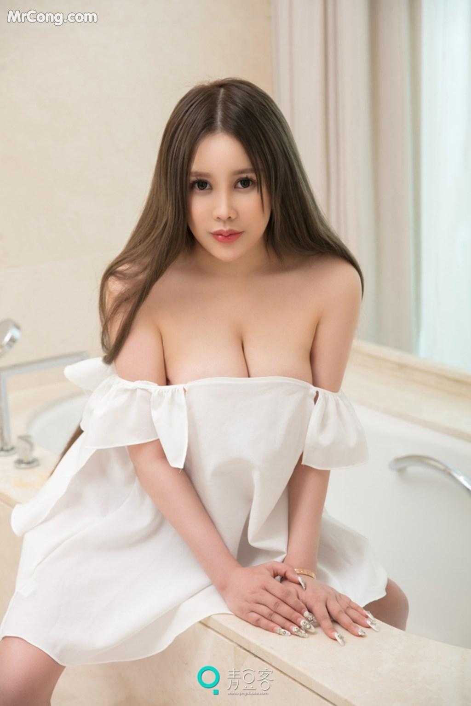 Image QingDouKe-2017-10-04-Ni-Shi-Yin-MrCong.com-004 in post QingDouKe 2017-10-04: Người mẫu Ni Shi Yin (倪詩茵) (51 ảnh)