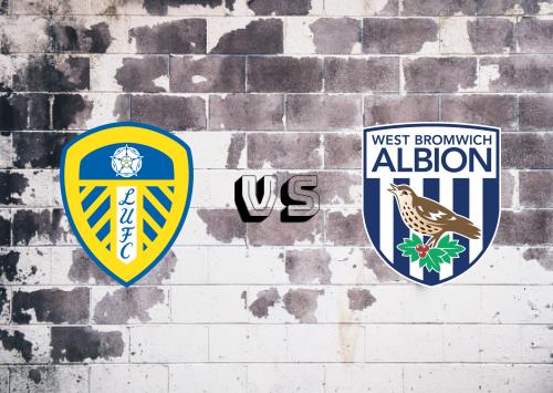 Leeds United vs West Bromwich Albion  Resumen
