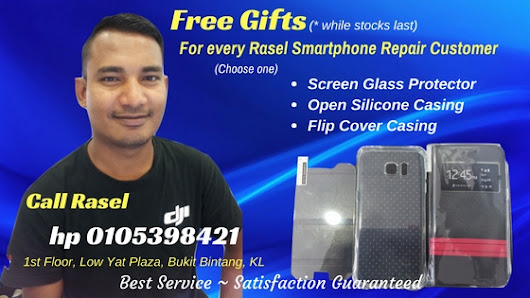 Free Gifts for Rasel Smartphone Repair Customers