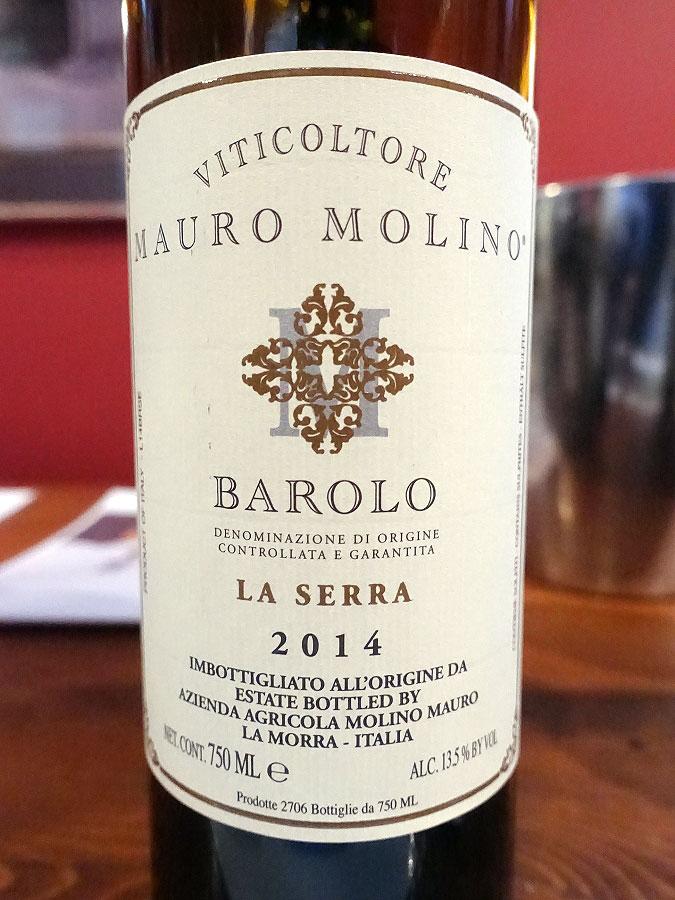 Mauro Molino Barolo La Serra 2014 (92 pts)