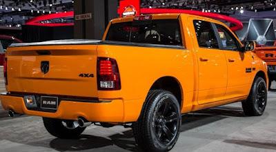 2016 New Ram 1500 Ignition Orange Sport Editions