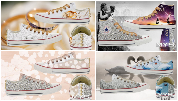 vans scarpe decorate