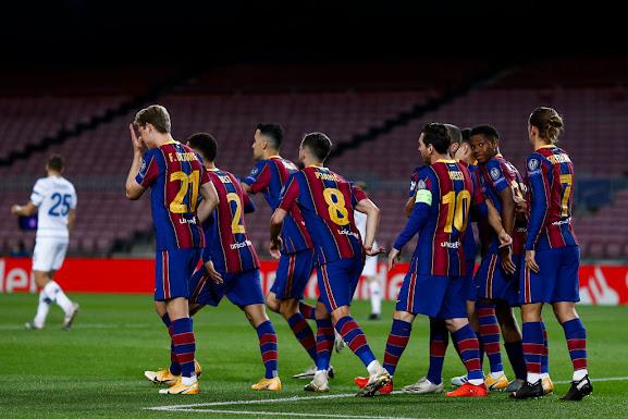 تشكيلة برشلونة أمام ريال سوسيداد
