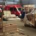Funcionário da Ortobom morre esmagado por pilha de madeiras em Nova Iguaçu