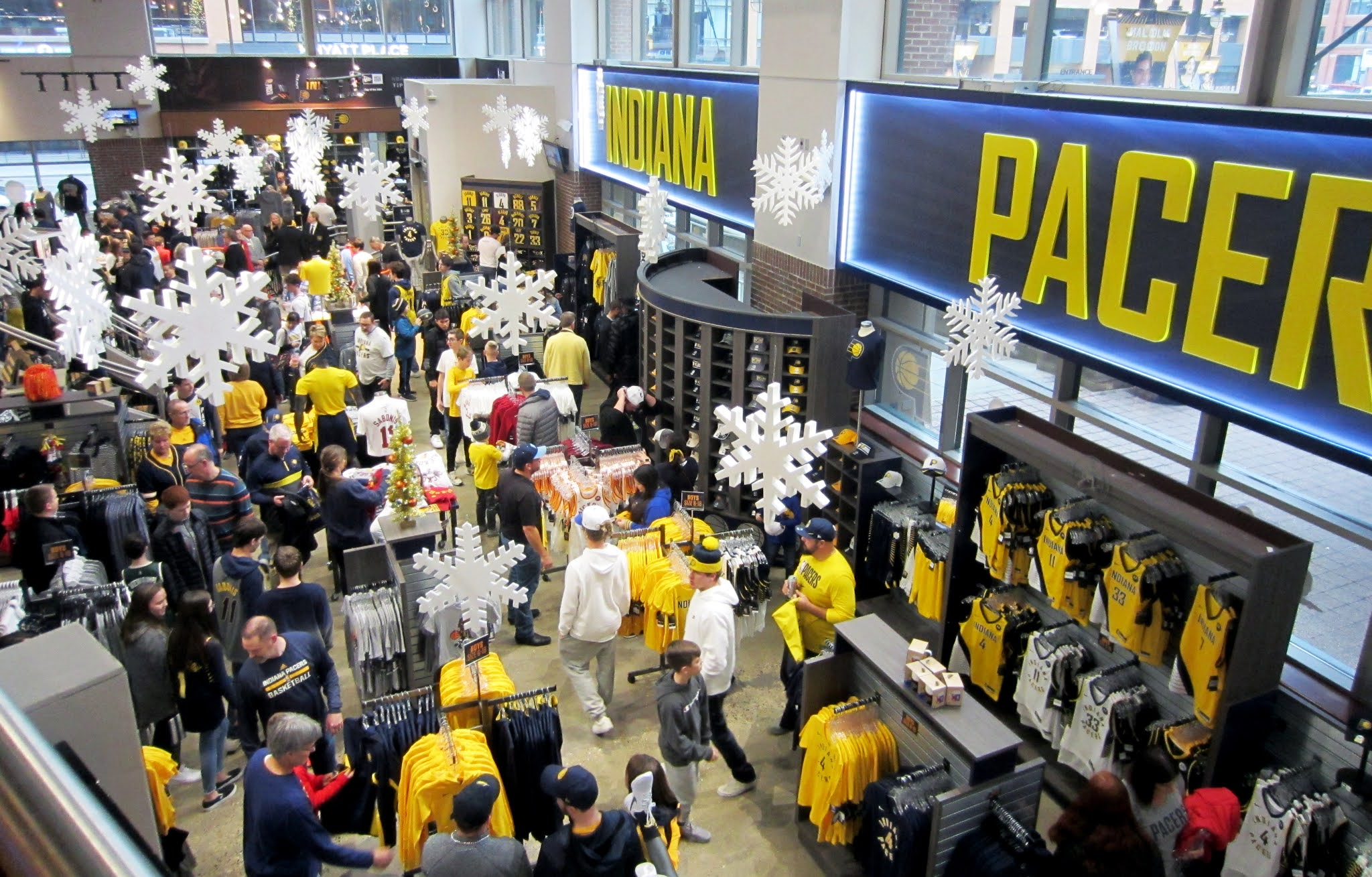 The Pacers Team Store at Bankers Life Fieldhouse