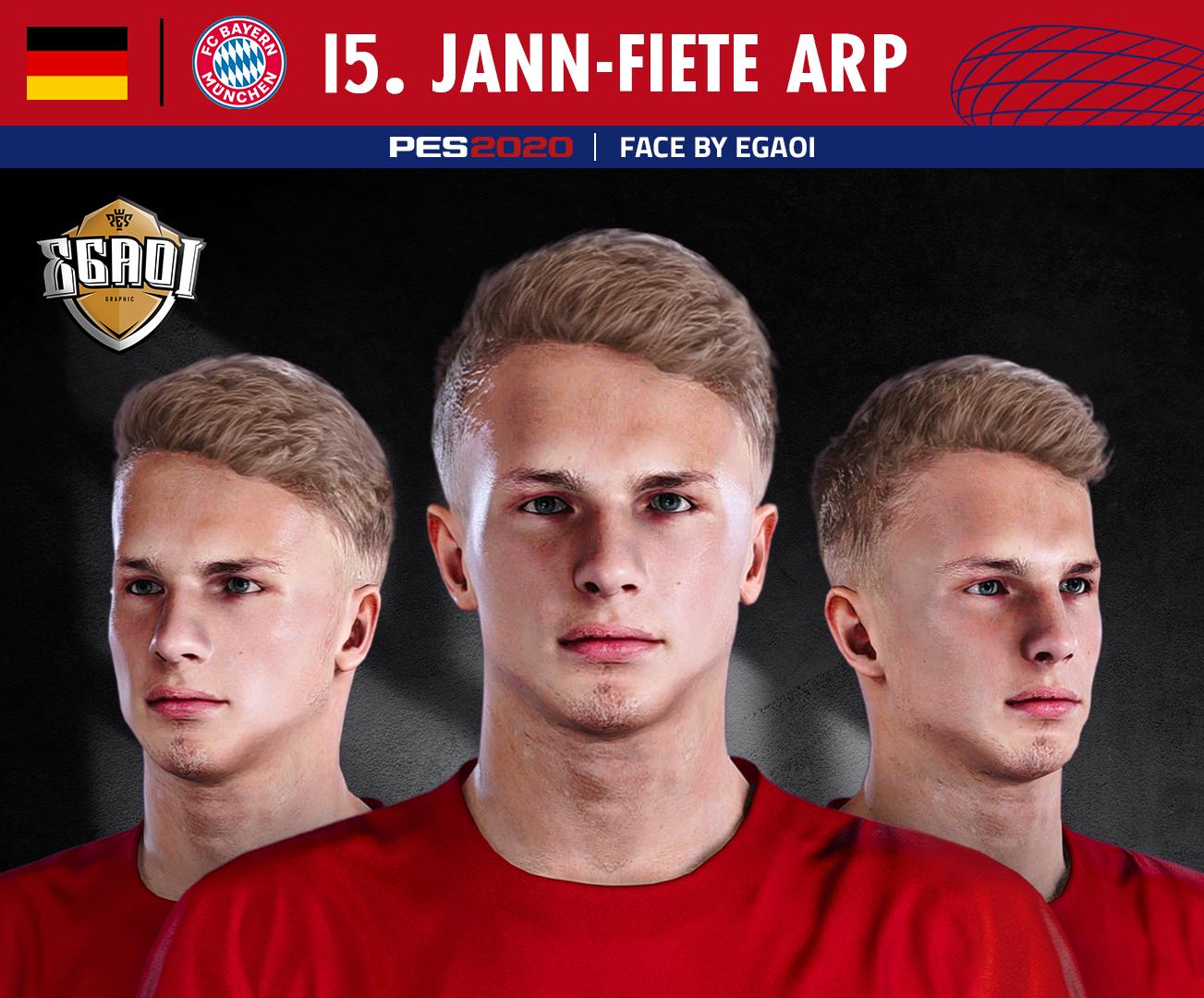 Fiete Arp Fifa 18