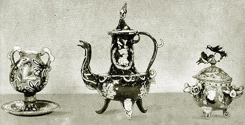 Resultado de imagen para Piezas de cerámica perfumada de las monjas clarisas