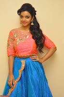 Nithya Shetty in Orange Choli at Kalamandir Foundation 7th anniversary Celebrations ~  Actress Galleries 005.JPG