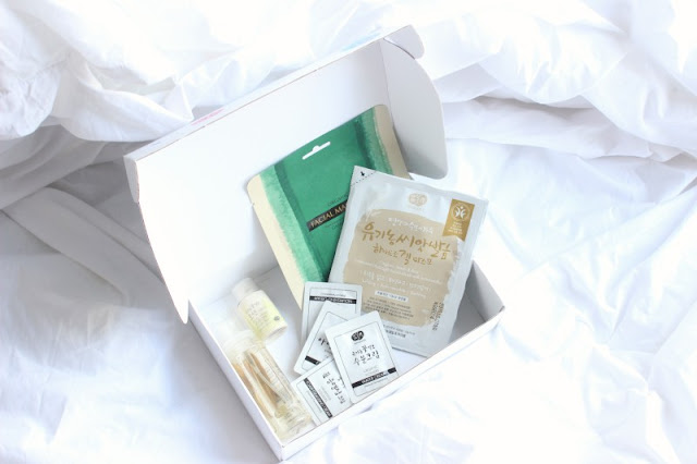 Inspire Me Korea - A New Monthly Subscription Box
