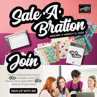 Join my team of My Joyful Stampers during Sale-A-Bration for an even sweeter deal!