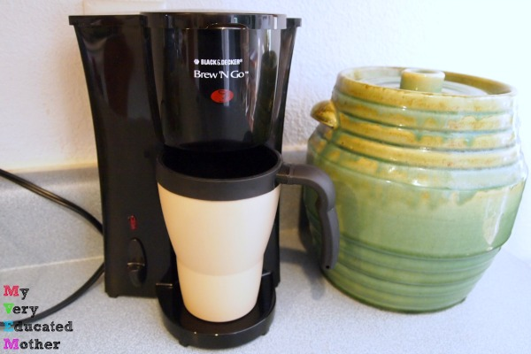 If you want to save money your freshman year of college, buy a coffeemaker!