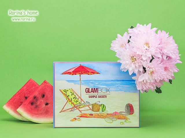 GlamBox июль: наполнение, отзывы, фото