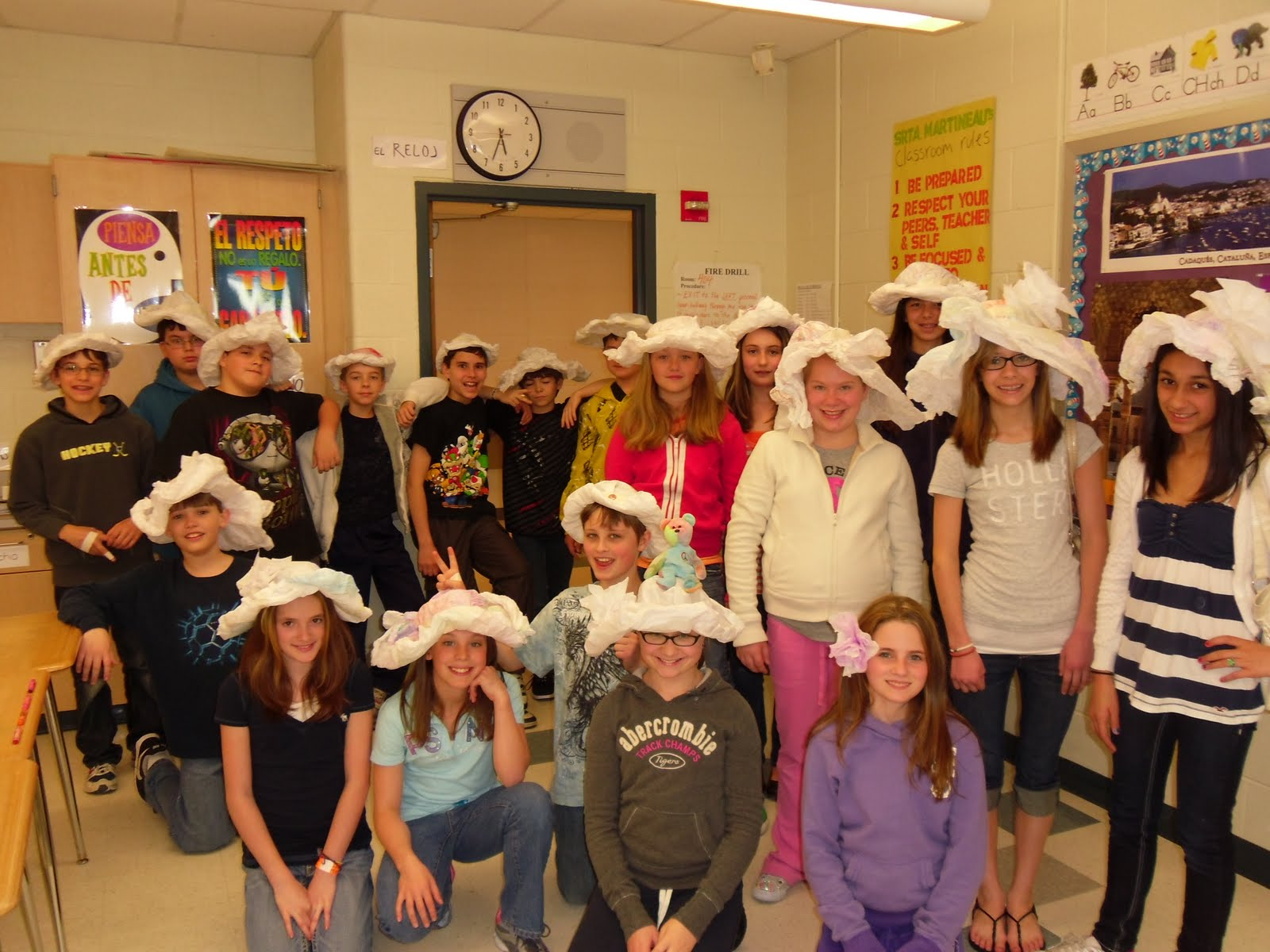 Tyrrell Middle School Our Sombreros Go Off To You