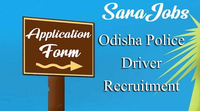 Odisha Police Driver Recruitment