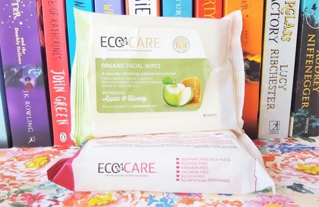 Beauty | Eco Care Organic Facial Wipes - Apple & Honey