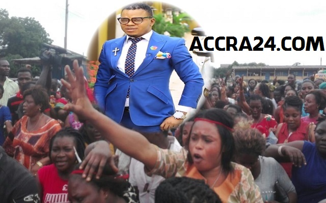 Bishop Obinim Supporters Scream 'leave our Angel alone' [Video]