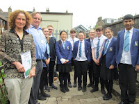 Award Winning Pupils from Grove Academy , Broughtry Ferry, Dundee
