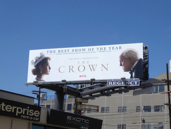 Crown 2017 Emmy FYC billboard