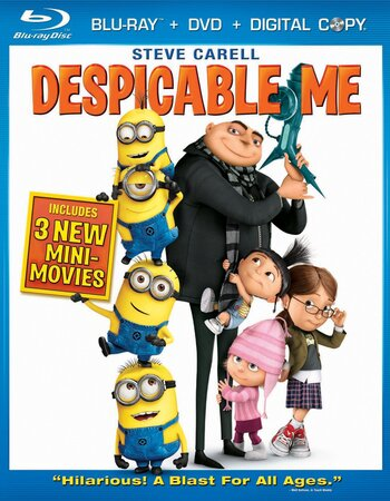 Despicable Me (2010) Dual Audio Hindi 480p BluRay 300MB ESubs Movie Download