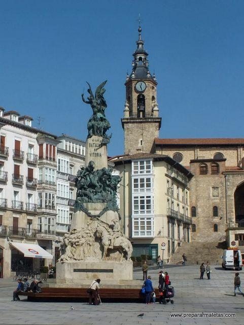 ruta en coche País Vasco por Vitoria