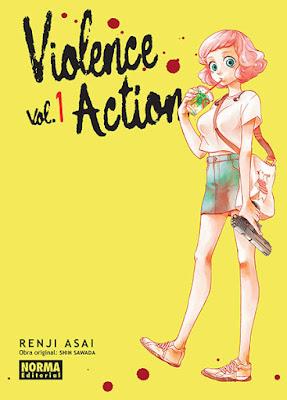 "Manga: Review de ""Violence Action"" Vol.1 deRenji Asai, Shin Sawada - Norma Editorial"