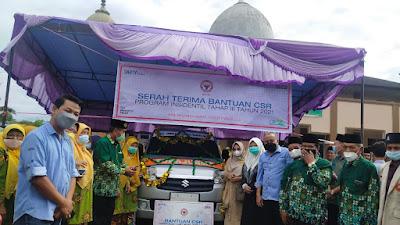 Aisyiyah Pasbar Terima Bantuan Ambulan