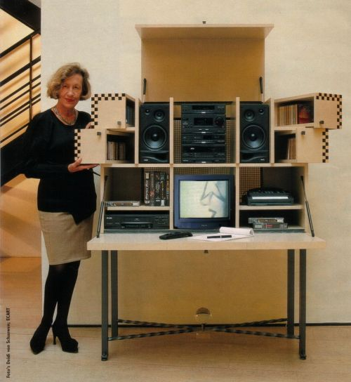 Mediathek Andrée Putman PHILIPS 1994