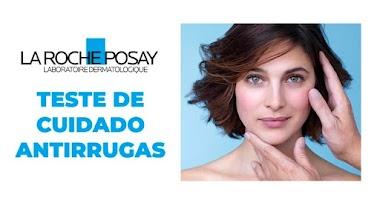 Receba em casa gratuitamente um Teste de Cuidado Antirrugas da La Roche Posay