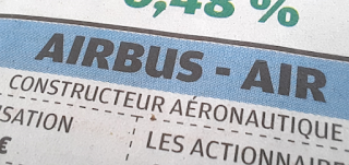 action Airbus dividende exercice 2020