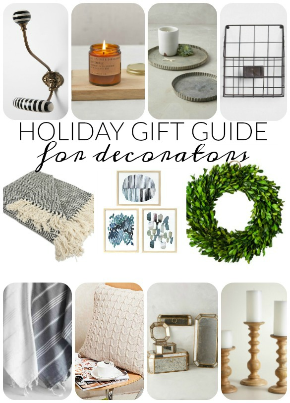 Holiday gift guide for the home decor lover