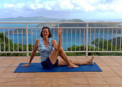 yoga pose marichyasana iii  claudia cummins