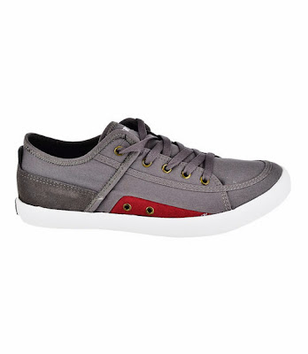 Airwalk Lane Low Sneakers - Grey/Red