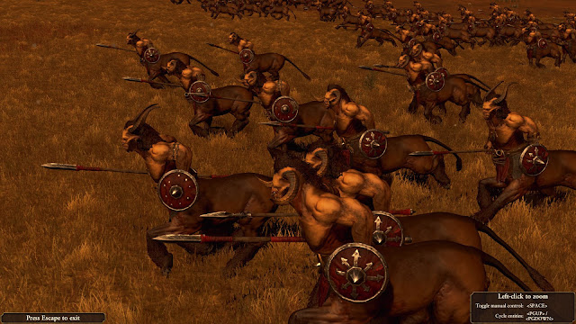 Total War: Warhammer, Call Of The Beastmen centigors